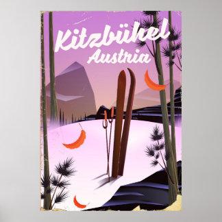 Poster Kitzbühel Áustria