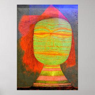 Poster Klee - a máscara do ator