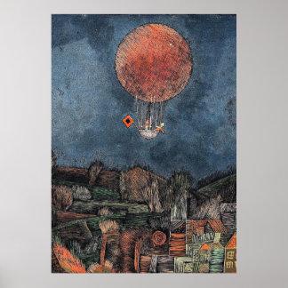 Pôster Klee - Der Luftballoon