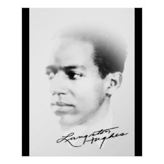 Pôster Langston Hughes