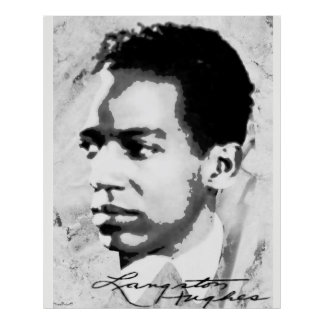 Poster Langston Hughes