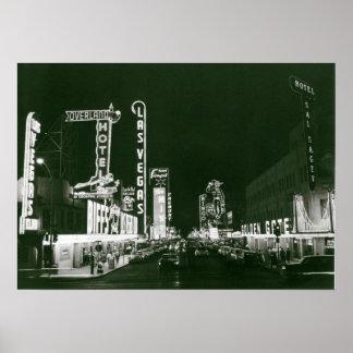 Pôster Las Vegas clássico