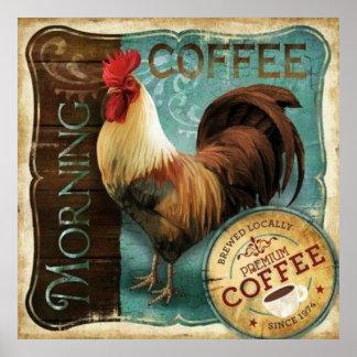 Pôster Lista do café
