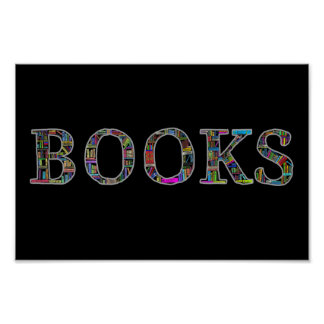 Pôster Livros: um design para amantes de livro