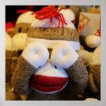 Pôster Macaco da peúga do peekaboo