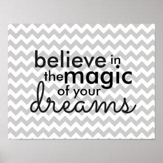 Pôster Mágica dos sonhos