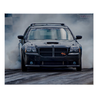 Poster Magnum fundido de Dodge
