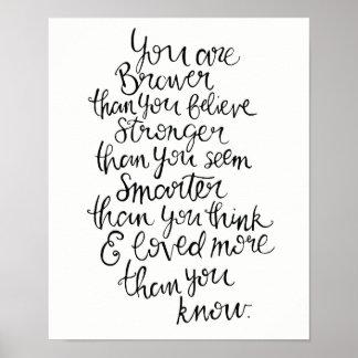 Poster Mais forte, mais esperto, mais bravo & amado