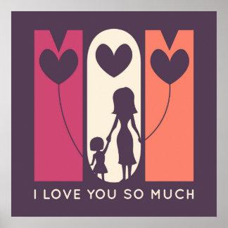 Poster Mamã, eu te amo tanto