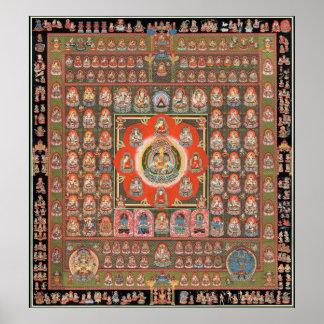 Poster Mandala de Taizokai