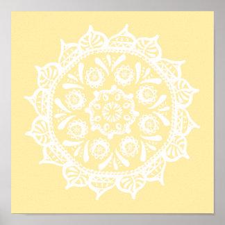 Poster Mandala do pergaminho