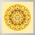 Pôster Mandala sagrado 2 da geometria