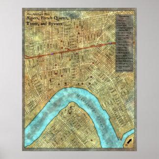 Poster Mapa do pagamento: Campanha Cargo-Apocalíptico dos