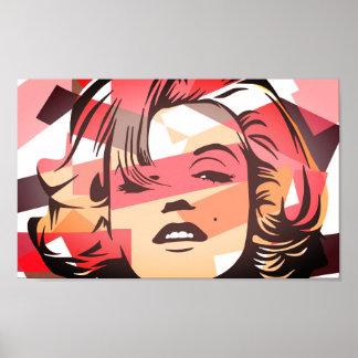 Pôster Marilyn