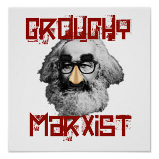 Poster Marxista Grouchy