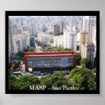 Pôster MASP - São Paulo