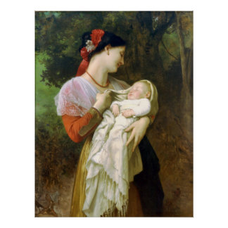 Poster maternal do amor