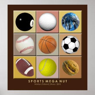 Poster mega da porca dos esportes pôster
