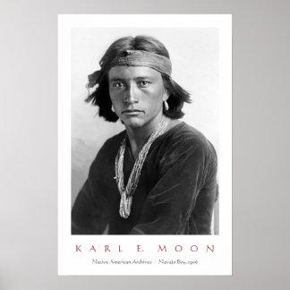 Pôster Menino do Navajo