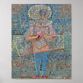 Poster Menino no vestido de fantasia: Paul Klee 1931