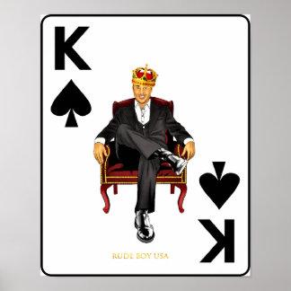 Poster Menino rude EUA - John LeBlanc, rei das pás