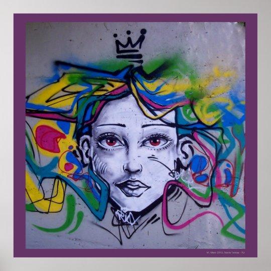 Poster Ment grafite