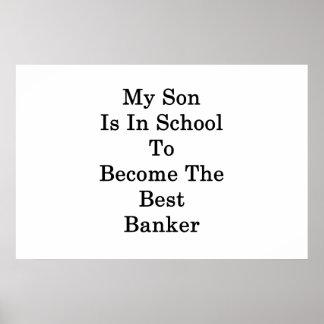 Pôster Meu filho está na escola a transformar-se o melhor