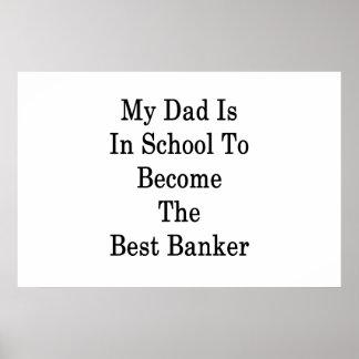 Pôster Meu pai está na escola a transformar-se o melhor