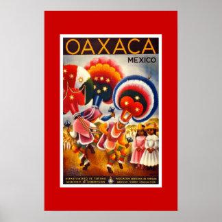 Poster México 2 das viagens vintage
