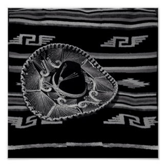 Pôster México-americano nativo
