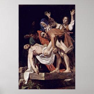 Pôster Michelangelo Merisi a Dinamarca Caravaggio - Entom