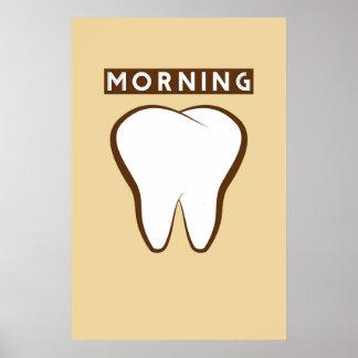 Poster moderno 24x36 dos dentes