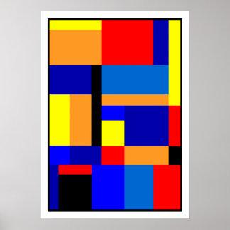 Pôster Mondrian #2-1