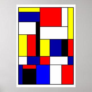 Pôster Mondrian #42