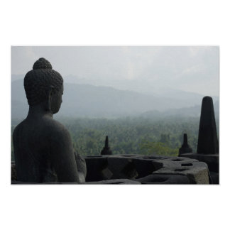 Pôster Monge de Borobudur