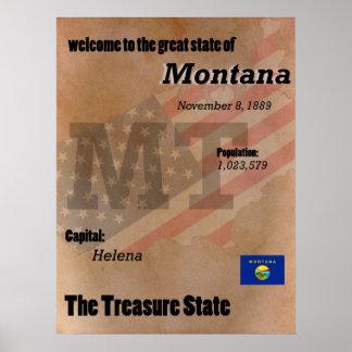 Pôster Montana o clássico do estado do tesouro