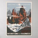 Pôster Montanhas da loucura