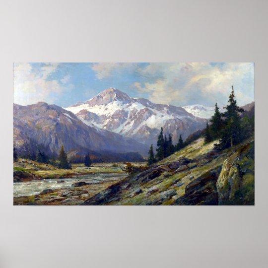 Pôster Montanhas rochosas máximas de Cornelius