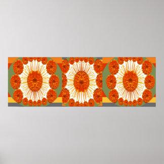 Pôster Mostra de flor do CRAVO-DE-DEFUNTO:   Arte