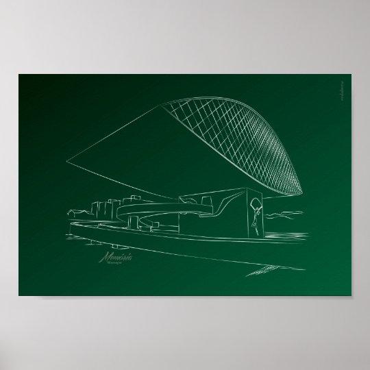 Pôster Museu Oscar Niemeyer