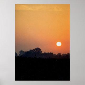 Poster Nascer do sol