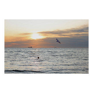 Pôster Nascer do sol do Mar Negro