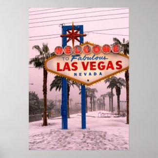 Poster Natal de Las Vegas