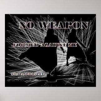 Poster Nenhuma arma formada!