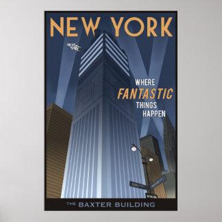 Poster New York fantástica