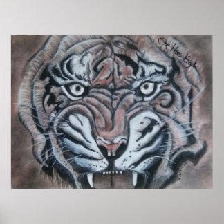 Poster No tigre da borda