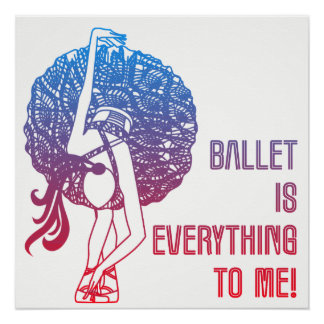 Pôster O balé é-me tudo poster