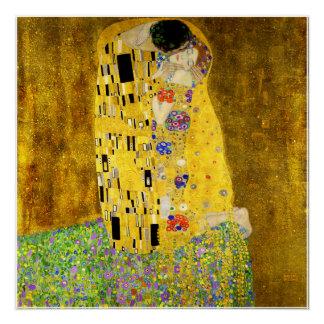 Pôster O beijo por Klimt