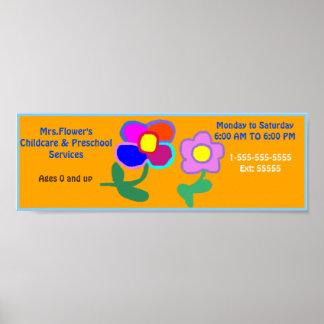 """Poster O """"centro de dia presta serviços de manutenção"""