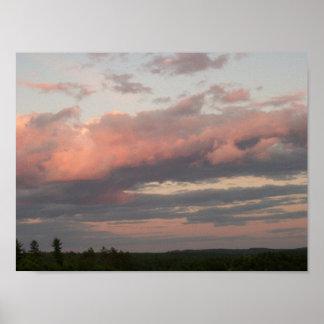 Pôster O céu sobre a barra cai represa